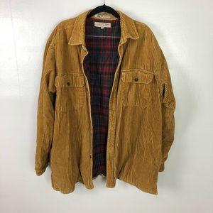Vintage Claybrooke Outdoor Corduroy Jacket Sz XL